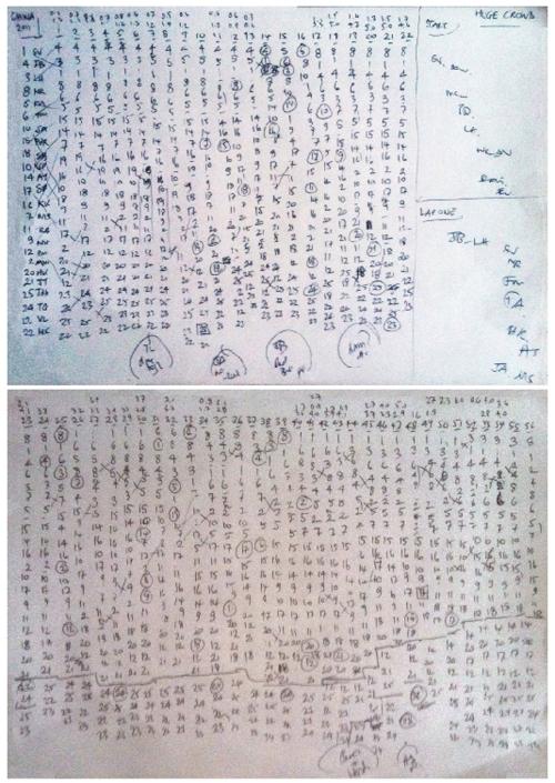 Joe Saward, lap chart, Shanghai