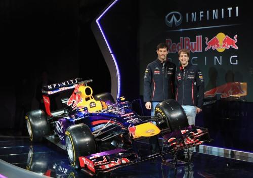 Infiniti Red Bull Racing RB9 Launch