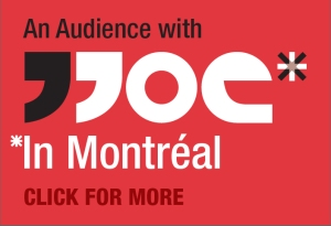 If you're coming to Montreal