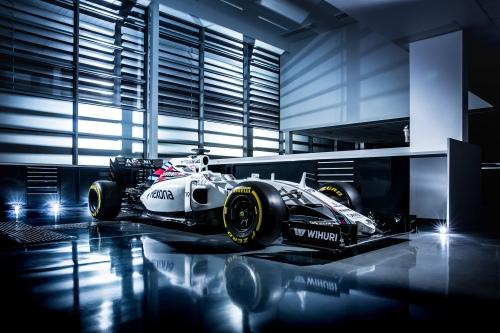 The Williams-Mercedes FW38